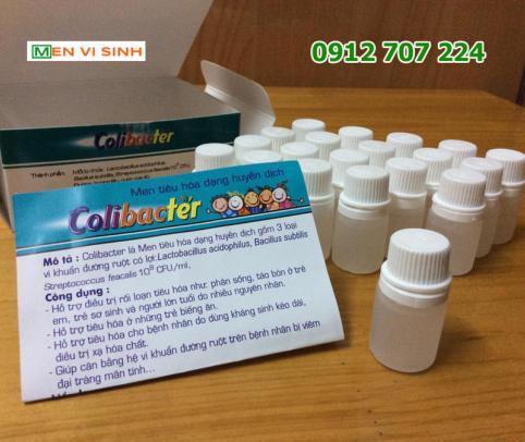 Lọ men vi sinh Colibacter 5ml